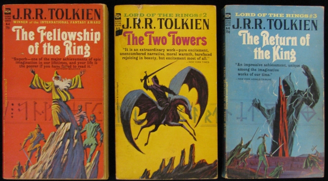 Lord of the Rings Ace Books