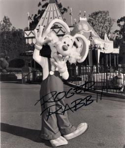 Roger Rabbit Autograph