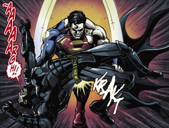 superman vs batman Gods Among Us