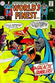 superman vs batman World's_Finest_Comics_185