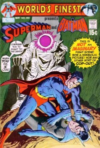 world's finest comics 202 superman vs batman
